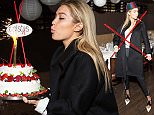 NEW YORK, NY - APRIL 26:  Model Gigi Hadid attends her birthday party at Red Stixs on April 26, 2015 in New York City.  (Photo by Michael Stewart/Getty Images)