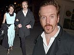 Picture Shows: Helen McCrory, Damian Lewis  April 27, 2015    Celebrities attend the 'American Buffalo' press night after party at The National Cafe in London, UK.    Non Exclusive  WORLDWIDE RIGHTS    Pictures by : FameFlynet UK © 2015  Tel : +44 (0)20 3551 5049  Email : info@fameflynet.uk.com