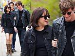"Dakota Johnson walking to the set to film scenes to her new movie ""How To Be Single"" in New York City. \n\nPictured:  Dakota Johnson\nRef: SPL1009349  270415  \nPicture by: Andrew Rocke / Splash News\n\nSplash News and Pictures\nLos Angeles: 310-821-2666\nNew York: 212-619-2666\nLondon: 870-934-2666\nphotodesk@splashnews.com\n"