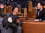 """NEW YORK, NY - APRIL 27:  Robert Downey Jr. Visits """"The Tonight Show Starring Jimmy Fallon"""" at Rockefeller Center on April 27, 2015 in New York City.  (Photo by Theo Wargo/NBC/Getty Images for """"The Tonight Show Starring Jimmy Fallon"""")"""