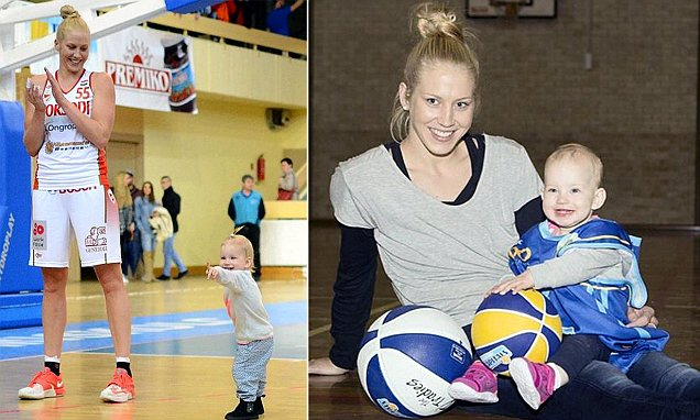 Basketball player Abby Bishop took custody of her baby niece en route to WNBA
