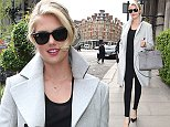 April 27, 2015: April 27, 2015  Kate Upton seen leaving her hotel in London.  Non Exclusive Worldwide Rights Pictures by : FameFlynet UK © 2015 Tel : +44 (0)20 3551 5049 Email : info@fameflynet.uk.com