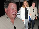 William Shatner and his wife Elizabeth dine out with friends at Mr.Chow in Beverly Hills, CA\n\nPictured: William Shatner,Elizabeth Shatnet\nRef: SPL1011150  270415  \nPicture by: Roshan Perera / Splash News\n\nSplash News and Pictures\nLos Angeles: 310-821-2666\nNew York: 212-619-2666\nLondon: 870-934-2666\nphotodesk@splashnews.com\n