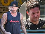 28 Apr 2015 - BRENTWOOD - USA  DAVID BECKHAM AT SOUL CYCLE   BYLINE MUST READ : XPOSUREPHOTOS.COM  ***UK CLIENTS - PICTURES CONTAINING CHILDREN PLEASE PIXELATE FACE PRIOR TO PUBLICATION ***  **UK CLIENTS MUST CALL PRIOR TO TV OR ONLINE USAGE PLEASE TELEPHONE  44 208 344 2007 ***