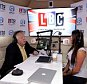 LBC battle bus was hosted by Nick Ferrari at Liverpool ONE shopping centre on the Battle Bus to discuss the issues concerning Liverpool ahead of the general election. Nick Ferrari with guest labour councillor Karen Danczuk on board the bus.