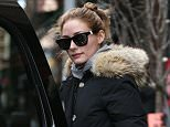 New York, NY - Celebutante and fashion it-girl Olivia Palermo was spotted sipping on a cold-pressed juice on Monday afternoon after getting a mani-pedi in Tribeca. The brunette beauty dressed down in a warm parka, leggings and running shoes as she made the short walk back home.  AKM-GSI        April 27, 2015 To License These Photos, Please Contact : Steve Ginsburg (310) 505-8447 (323) 423-9397 steve@akmgsi.com sales@akmgsi.com or Maria Buda (917) 242-1505 mbuda@akmgsi.com ginsburgspalyinc@gmail.com