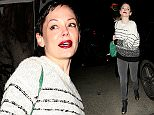 Rose McGowan parties at Chateau Marmont hotel in West Hollywood, CA  Pictured: Rose McGowan Ref: SPL1011197  280415   Picture by: Roshan Perera/ Splash News  Splash News and Pictures Los Angeles: 310-821-2666 New York: 212-619-2666 London: 870-934-2666 photodesk@splashnews.com