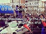 baltimore purge flyer that made the rounds on instagram and twitter