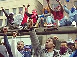 crips And Bloods Unite amidst the Baltimore riots