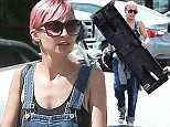 Picture Shows: Nicole Richie  April 26, 2015    Pink haired reality star Nicole Richie shops for antiques with friends at The Agoura Antique Mart in Agoura Hills, California.     The 33 year old  showed off her extremely slender frame as she struggled to carry a table back to her car but seemed happy with her new collection of antique oddities.     Exclusive - All Round  UK RIGHTS ONLY  Pictures by : FameFlynet UK © 2015  Tel : +44 (0)20 3551 5049  Email : info@fameflynet.uk.com