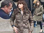 28.APRIL.2015 - VENICE - ITALY FELICITY JONES ARRIVING AT SAINT MARCO SQUARE IN VENICE FOR FILMING OF DAN BROWNS BESTSELLING BOOK 'INFERNO.' *AVAILABLE FOR UK SALE ONLY* BYLINE MUST READ : CIAOPIX/XPOSUREPHOTOS.COM ***UK CLIENTS - PICTURES CONTAINING CHILDREN PLEASE PIXELATE FACE PRIOR TO PUBLICATION *** **UK CLIENTS MUST CALL PRIOR TO TV OR ONLINE USAGE PLEASE TELEPHONE  44 208 344 2007 ***