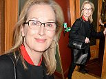 Mandatory Credit: Photo by Richard Young/REX Shutterstock (4725029b)  Meryl Streep  'Follies in Concert' musical at Royal Albert Hall, London, Britain - 28 Apr 2015