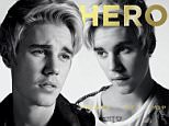 COVER of Hero Magazine (Issue 13), on newsstands April 28th in the UK May 18th in the US,  featuring prince of pop Justin Bieber, photographed by Hedi Slimane. Please link back to www.hero-magazine.com and credit photographer Hedi Slimane/Hero Magazine. \nFor Hero 13, Justin sits down for an intimate Q&A with Founder/Editor-in-Chief James West. Coming of his Comedy Central Roast, Justin speaks candidly about his reaction to seeing it for the first time & experiencing the roast, working on his new album, public perception and shares a few personal quirks. \nRecording for this next studio album has been the main priority for Bieber explaining his difference between his first and forthcoming, ¿The biggest difference is that I¿m older, I was 17 when I recorded most of my last album and I¿m 21 now. I¿ve been through a lot in a public way which gives me a much different perspective on things. I am working with producers like Kanye [West] and Rick Rubin who have influenced me and the music I