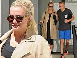 Ashlee Simpson and Evan Ross finish a workout\nFeaturing: Ashlee Simpson_Evan Ross\nWhere: Los Angeles, California, United States\nWhen: 28 Apr 2015\nCredit: WENN.com