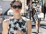 LOS ANGELES, CA - APRIL 28: Emmy Rossum is seen in Beverly Hills on April 28, 2015 in Los Angeles, California.  (Photo by Bauer-Griffin/GC Images)
