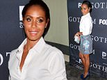 LOS ANGELES, CA - APRIL 28:  Actress Jada Pinkett Smith attends Fox's 'Gotham' finale screening event at Landmark Theatre on April 28, 2015 in Los Angeles, California.  (Photo by Imeh Akpanudosen/Getty Images)