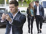 MADRID, SPAIN - APRIL 28:  Michael Buble sighting on April 28, 2015 in Madrid, Spain. (Photo by Iconic/GC Images)