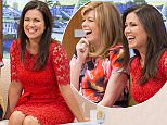 EDITORIAL USE ONLY. NO MERCHANDISING  Mandatory Credit: Photo by ITV/REX Shutterstock (4727932e)  Kate Garraway and Susanna Reid  'Good Morning Britain' TV Programme, London, Britain. - 29 Apr 2015