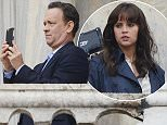 29.APRIL.2015 - VENICE - ITALY  *AVAILABLE FOR UK SALE ONLY* TOM HANKS SEEN ON THE FILM SET OF 'INFERNO' IN SAINT MARCO SQUARE, VENICE, ITALY. BYLINE MUST READ : CIAO PIX/XPOSUREPHOTOS.COM ***UK CLIENTS - PICTURES CONTAINING CHILDREN PLEASE PIXELATE FACE PRIOR TO PUBLICATION *** *UK CLIENTS MUST CALL PRIOR TO TV OR ONLINE USAGE PLEASE TELEPHONE 0208 344 2007**