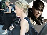 Charlize Theron wearing no make-up arriving at Chateau Marmont hotel in Hollywood Featuring: Charlize Theron Where: Los Angeles, California, United States When: 28 Apr 2015 Credit: WENN.com