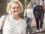 Picture Shows: Danniella Westbrook  April 25, 2015    Danniella Westbrook shops for shoes and a £415 jacket for her partner and new boyfriend in Southend-on-Sea, UK. The English actress and TV presenter was seen showing her stomach as she put her hands on her head.    Exclusive All Rounder  WORLDWIDE RIGHTS  Pictures by : FameFlynet UK © 2015  Tel : +44 (0)20 3551 5049  Email : info@fameflynet.uk.com