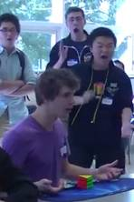 Rubik's cube record: watch incredible moment US teenager completed puzzle in 5.25 seconds