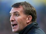 28th April 2015 - Barclays Premier League - Hull City v Liverpool - Liverpool manager Brendan Rodgers - Photo: Simon Stacpoole / Offside.