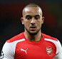 "File photo dated 25-02-2015 of Asenal's Theo Walcott during the UEFA Champions League Round of 16 match at the Emirates Stadium, London. PRESS ASSOCIATION Photo. Issue date: Wednesday April 29, 2015. Theo Walcott understands just how difficult it is now to hold down a place in the Arsenal side, who he says have been the ""best team in Europe"" this year and could lift the title next season if everyone stays fit. See PA story SOCCER Arsenal. Photo credit should read David Davies/PA Wire."