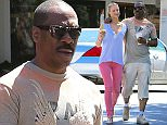 Picture Shows: Paige Butcher, Eddie Murphy  April 28, 2015    Actor Eddie Murphy and his Australian model girlfriend Paige Butcher make a morning Starbucks run in Bel-Air, California.     The pair, who usually get their coffee at Coffee Bean & Tea Leaf, decided to give Starbucks a try today.    Exclusive - All Round  UK RIGHTS ONLY    Pictures by : FameFlynet UK © 2015  Tel : +44 (0)20 3551 5049  Email : info@fameflynet.uk.com