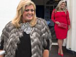 Mandatory Credit: Photo by Simon Ford/REX Shutterstock (4607315bg).. Gemma Collins.. 'The Only Way is Essex' cast filming, Britain - 01 Apr 2015.. James Argent's Mad Hatter themed party at Lynford House Hotel, Norfolk..