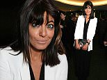 LONDON, ENGLAND - APRIL 28:  Claudia Winkleman attends the GQ Food & Drink Awards at The Bulgari Hotel on April 28, 2015 in London, England.   Pic Credit: Dave Benett