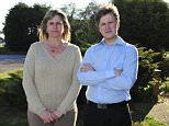 Copyright Daily Mail 19/04/2015 Money Mail pictures of Jaki Cowling and her son Josh Coultas, whose cars were hit by a dangerous driver. Picture shows :Jaki Cowling, 45, and Josh Coultas, 19 from New Romney, Kent.