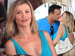 Beverly Hills, CA - Joanna Krupa get's lovey dovey after lunch with her husband Romain Zago at Il Pastaio in Beverly Hills. \nAKM-GSI      April  29, 2015\nTo License These Photos, Please Contact :\nSteve Ginsburg\n(310) 505-8447\n(323) 423-9397\nsteve@akmgsi.com\nsales@akmgsi.com\nor\nMaria Buda\n(917) 242-1505\nmbuda@akmgsi.com\nginsburgspalyinc@gmail.com