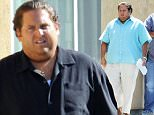 """Actor Jonah Hill putting on alot of weight for his role in """"Arms And The Dudes"""" with co star Miles Teller filming in Burbank Ca.\nFeaturing: Jonah Hill\nWhere: Burbank, California, United States\nWhen: 30 Apr 2015\nCredit: Cousart/JFXimages/WENN.com"""