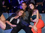 LOS ANGELES, CA - APRIL 28:  (L-R) Model Chrissy Teigen, singer John Legend, and model Emily Ratajkowski attend the Samsung Studio LA Launch Event across from the Grove on April 28, 2015 in Los Angeles, California.  (Photo by Jonathan Leibson/Getty Images for Samsung)