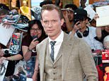 Mandatory Credit: Photo by David Fisher/REX Shutterstock (4691213a)  Paul Bettany  'Avengers: Age of Ultron' European film premiere, London, Britain - 21 Apr 2015  Avengers: Age of Ultron sees Tony Stark jumpstart a dormant peacekeeping program, but things go awry and Earth???s Mightiest Heroes, including Iron Man, Captain America, Thor, The Incredible Hulk, Black Widow and Hawkeye, are put to the ultimate test as they battle to save the planet from destruction at the hands of the villainous Ultron.