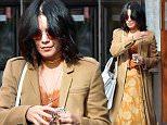 136500, Vanessa Hudgens seen leaving her apartment in Soho, NYC. New York, New York - Thursday April 30, 2015. Photograph: © PacificCoastNews. Los Angeles Office: +1 310.822.0419 sales@pacificcoastnews.com FEE MUST BE AGREED PRIOR TO USAGE