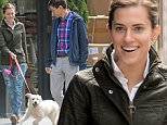 EXCLUSIVE TO INF.\nApril 30, 2015: Allison Williams and her boyfriend Ricky Van Veen are pictured walking their dog, a golden retriever mix named Mooxie, in New York City. Allison Williams puts a brave face after recent new revelations about her journalist father Brian Williamsí mis-reporting his involvement in major world news events, including the Tahrir Square uprising and the war in Afghanistan. Brian is currently suspended from his job as anchor of NBC Nightly News and is under investigation by the network. They have reportedly found at least 10 examples of Williamsí exaggerations of events involving himself.\nMandatory Credit: Elder Ordonez/INFphoto.com Ref: infusny-160