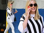 A happy and pregnant Anne V is spotted walking to Patrick Demarchelier's studio in NYC. Anne was looking radiant in NYC as she walked to Patrick Demarchelier's studio in NYC's Chelsea neighborhood on Thursday afternoon. \n\nPictured: Anne V, Anne Vyalitsyna\nRef: SPL1013737  300415  \nPicture by: Tom Meinelt / Splash News\n\nSplash News and Pictures\nLos Angeles: 310-821-2666\nNew York: 212-619-2666\nLondon: 870-934-2666\nphotodesk@splashnews.com\n