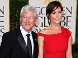 Mandatory Credit: Photo by REX_Shutterstock (2066311sa).. Richard Gere and Carey Lowell.. 70th Annual Golden Globe Awards, Arrivals, Los Angeles, America - 13 Jan 2013.. ..