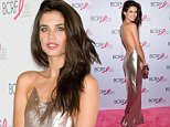 Model Sara Sampaio attends the Breast Cancer Research Foundation's Hot Pink Party honoring Leonard A. Lauder at The Waldorf Astoria Hotel on Thursday, April 30, 2015, in New York. (Photo by Evan Agostini/Invision/AP)