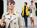 EXCLUSIVE: Helena Christensen and her mother Elsa take a walk in the West Village, NYC.  Pictured: Helena Christensen and Elsa Christensen Ref: SPL1013344  300415   EXCLUSIVE Picture by: XactpiX/Splash News  Splash News and Pictures Los Angeles: 310-821-2666 New York: 212-619-2666 London: 870-934-2666 photodesk@splashnews.com