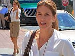 Cindy Crawford was visiting The Ivy in Santa Monica. The beautiful supermodel was dressed in a white shirt with a tan skirt, her hair pulled back, on Thursday, April 30, 2015 X17online.com\nOK FOR WEB SITE USAGE.\nAny quieries please call Alasdair or Gary on office 0034 966 713 949/926 or mibile Gary 0034 686 421 720 or Alasdair on 0034 630 576 519