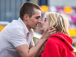 Emma Roberts and Dave Franco were filming their new movie 'Nerve' in Brooklyn, NY.  Pictured: Emma Roberts and Dave Franco Ref: SPL985418  300415   Picture by: Splash  Splash News and Pictures Los Angeles: 310-821-2666 New York: 212-619-2666 London: 870-934-2666 photodesk@splashnews.com