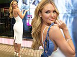 Victoria's Secret Angel Candice Swanepoel at the kick-off for the first-ever Victoria's Secret Bombshells' Day in Dallas, TX. Candice debuted the company's new 'Bombshell Bra' and 'Bombshell Fragrance' products.\n\nPictured: Candice Swanepoel\nRef: SPL1001234  300415  \nPicture by: Splash News\n\nSplash News and Pictures\nLos Angeles: 310-821-2666\nNew York: 212-619-2666\nLondon: 870-934-2666\nphotodesk@splashnews.com\n