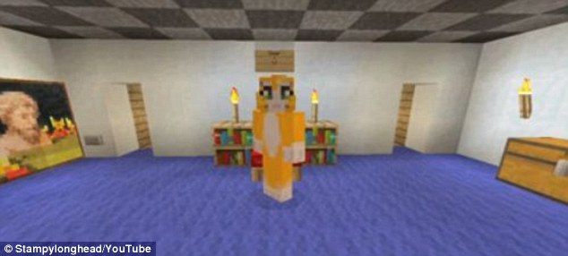 Garrett's main audience is six to 14-year-olds. He spends around an hour recording every day, with another 10 hours editing and managing the business. He also has a daily meeting with his network, based in Los Angeles. Garrett's father came up with his Stampy Cat design, pictured