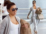 1 May 2015 - MARRAKESH - MOROCCO ***AVAILABLE FOR UK SALE ONLY *** US ACTRESS EVA LONGORIA ARRIVES ARRIVES FOR DAVID BECKHAMÌS 40TH BIRTHDAY PARTYS IN MARRAKESH .¯NO SIGN OF HER NEW BOYFRIEND JOSÖ ANTONIO BASTON BYLINE MUST READ : XPOSUREPHOTOS.COM ***UK CLIENTS - PICTURES CONTAINING CHILDREN PLEASE PIXELATE FACE PRIOR TO PUBLICATION *** CLIENTS MUST CALL PRIOR TO TV OR ONLINE USAGE PLEASE CALL  44 (0) 208 344 2007