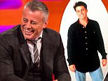 Matt LeBlanc during filming of the Graham Norton Show, at the London Studios, south London. PRESS ASSOCIATION Photo. Picture date: Thursday April 30, 2015. Photo credit should read: Dominic Lipinski/PA Wire