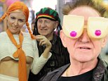 May 2nd 2015:\nGabi Grecko and Geoffrey Edelsten go shopping for party supplies for the businessman's celebrations tonight in Melbourne.\nEXCLUSIVE\nMandatory Credit: INFPhoto.com Ref:infausy-42/45\n