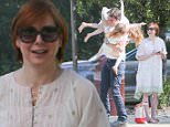 EXCLUSIVE: Alyson Hannigan seen hugging and kissing her husband and kids at the park.\n\nPictured: Alyson Hannigan, Alexis Denisof, Satyana Denisof and Keeva Denisof\nRef: SPL1012479  010515   EXCLUSIVE\nPicture by: Reefshots / Splash News\n\nSplash News and Pictures\nLos Angeles: 310-821-2666\nNew York: 212-619-2666\nLondon: 870-934-2666\nphotodesk@splashnews.com\n